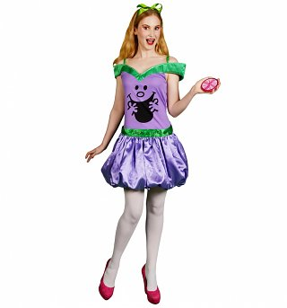 Women's Little Miss Naughty Fancy Dress Costume