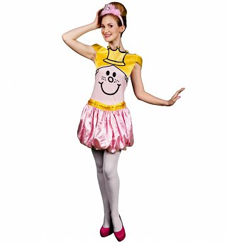 Women's Little Miss Princess Fancy Dress Costume