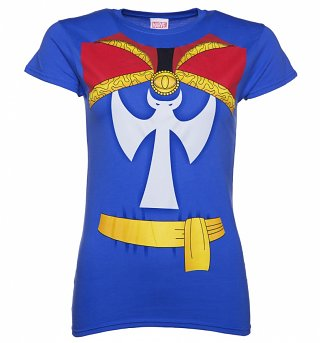 Women's Marvel Comics Doctor Strange Uniform T-Shirt