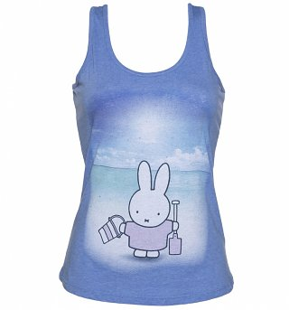 Women's Miffy At The Beach Racerback Vest