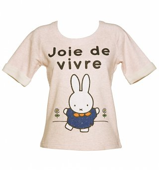 Women's Miffy Joie de Vivre Short Sleeve Sweater