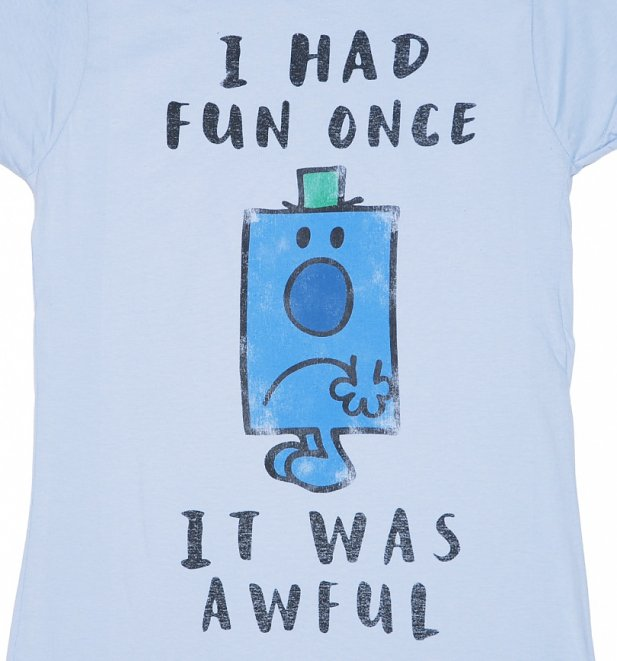 Women's Mr Grumpy I Had Fun Once T-Shirt