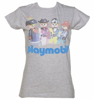 Women's Playmobil Retro Logo T-Shirt