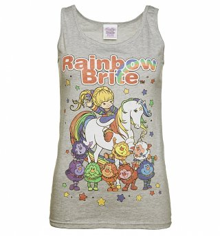Women's Rainbow Brite And Sprites Fitted Vest
