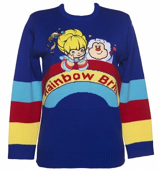 Women's Rainbow Brite Knitted Jumper