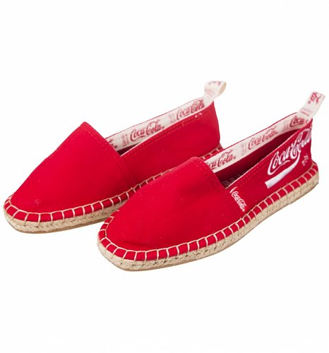 Women's Red Coca-Cola Espadrilles