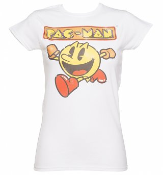 Women's Retro Pac-Man T-Shirt