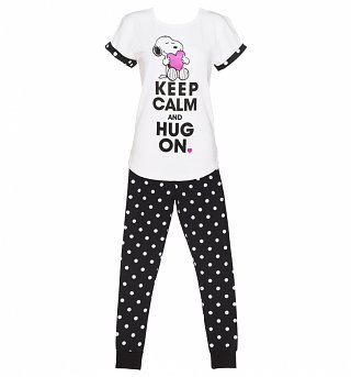 Women's Snoopy Keep Calm Pyjamas