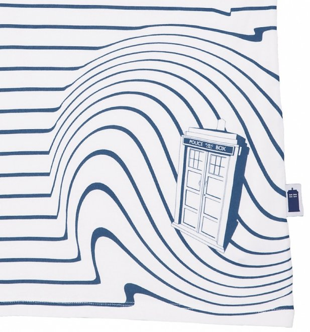 Women's TARDIS Swirl Doctor Who T-Shirt from BBC Worldwide