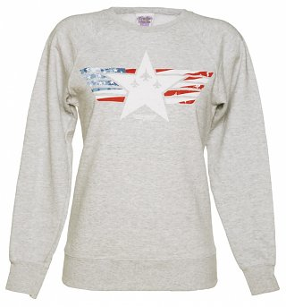 Women's Top Gun Maverick Stars and Stripes Sweater