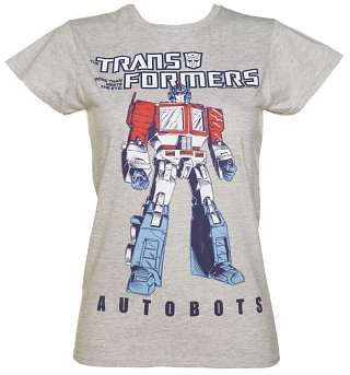 Women's Transformers Autobots Optimus Prime T-Shirt