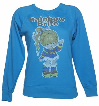 Women's Vintage Rainbow Brite Sweater