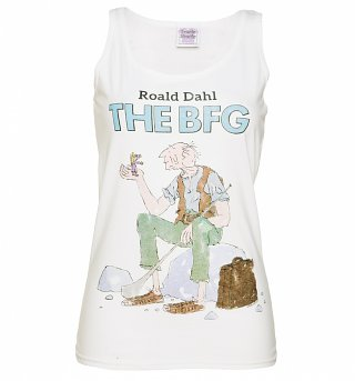 Women's White Roald Dahl The BFG Vest