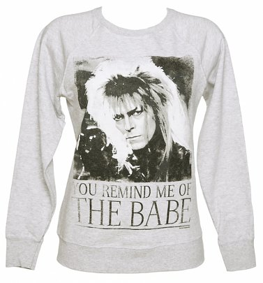 Women's You Remind Me Of The Babe Bowie Labyrinth Sweater