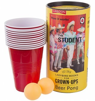 Ladybird Books For Grown Ups The Student Beer Pong Game