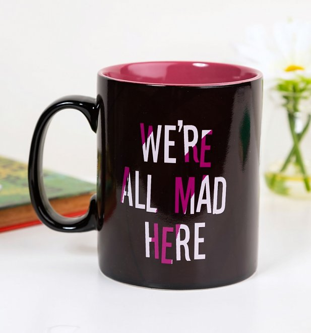 Large Alice In Wonderland Cheshire Cat Heat Change Mug
