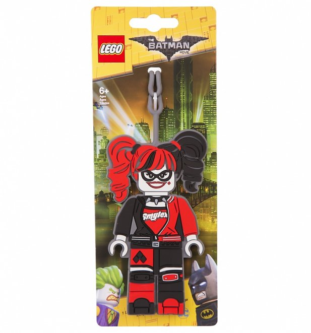 LEGO Batman Harley Quinn Luggage Tag