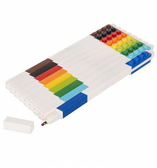 LEGO Set Of 9 Multicolour Gel Pens