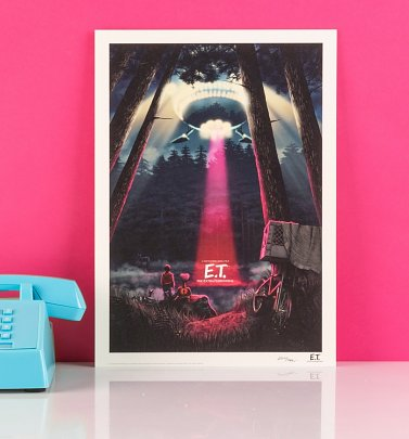 Limited Edition E.T. Art Print