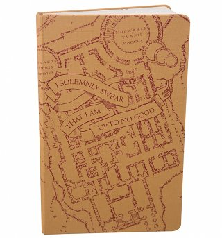 Limited Edition Harry Potter Marauder's Map Ruled Notebook from Moleskine