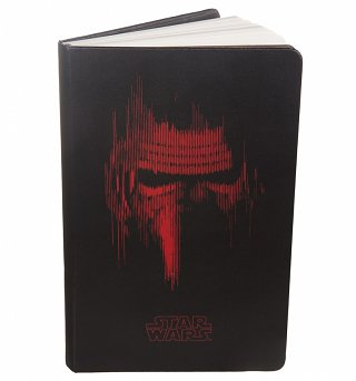 Limited Edition Star Wars VII Kylo Ren A5 Black Notebook from Moleskine