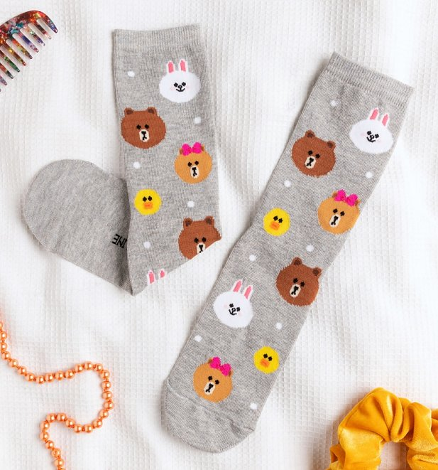 Line Friends Socks