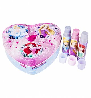Lip Smacker Disney Princess Tin with 3 Lip Balms
