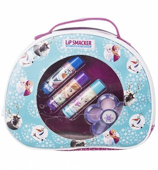 Lip Smacker Frozen Cosmetic Bag with Lip Balms and Eye Shadow