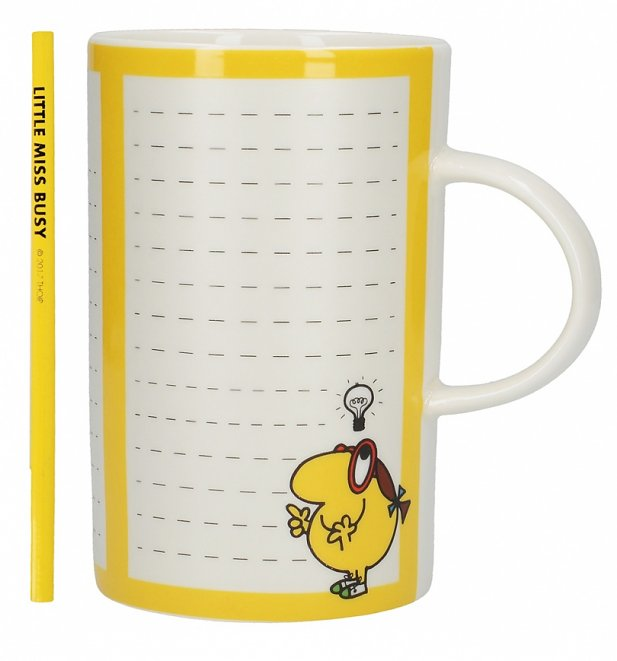 Little Miss Busy Bright Ideas Tall China Mug