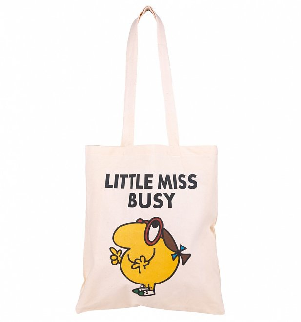 Little Miss Busy Tote Bag