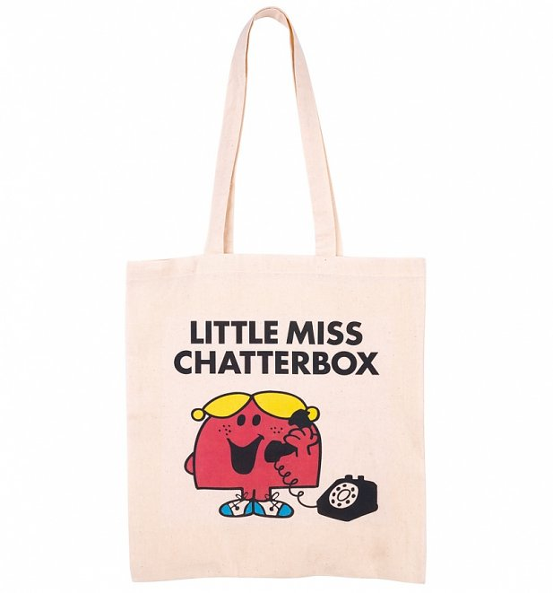Little Miss Chatterbox Tote Bag