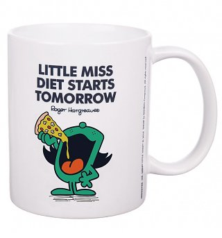 Little Miss Diet Starts Tomorrow Mug