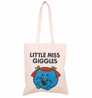 Little Miss Giggles Tote Bag