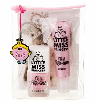 Little Miss Princess Nail Varnish And Lip Paint Gift Set