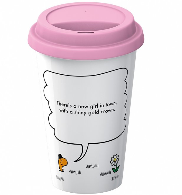 Little Miss Princess Quote Travel Mug