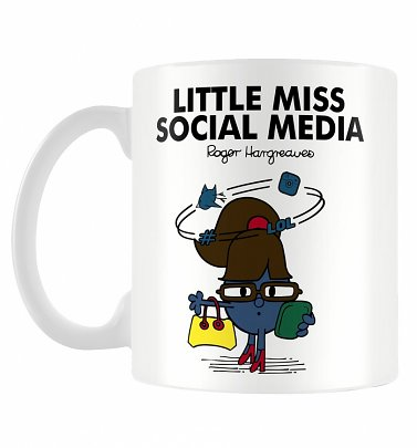 Little Miss Social Media Mug