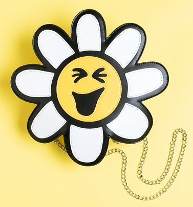 Little Miss Sunshine Daisy Shaped Cross Body Bag