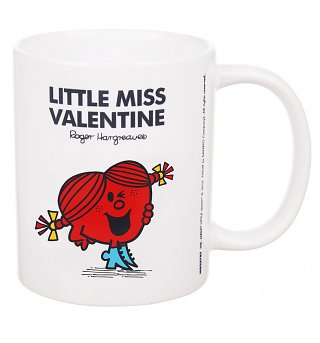Little Miss Valentine Mug