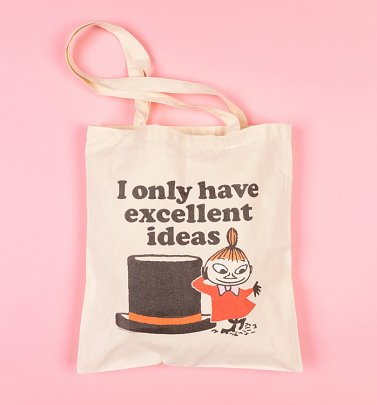 Moomins Little My Excellent Ideas Tote Bag