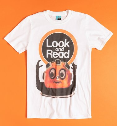 Look And Read Wordy White T-Shirt