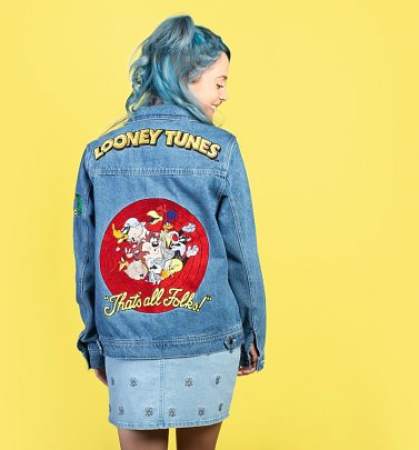 Looney Tunes Denim Jacket from Cakeworthy