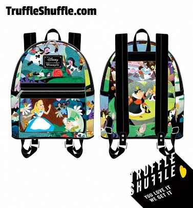 Loungefly Disney Alice In Wonderland Mary Blair Mini Backpack