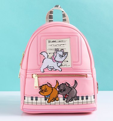 Loungefly Disney Aristocats Piano Kitties Mini Backpack