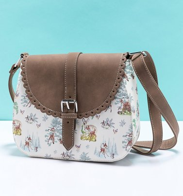Loungefly Disney Bambi Scenes Crossbody Bag