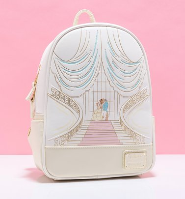 Loungefly Disney Beauty And The Beast Mini Backpack