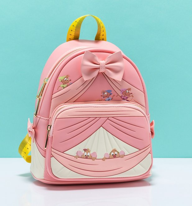 Loungefly Disney Cinderella 70th Anniversary Peek A Boo Mini Backpack