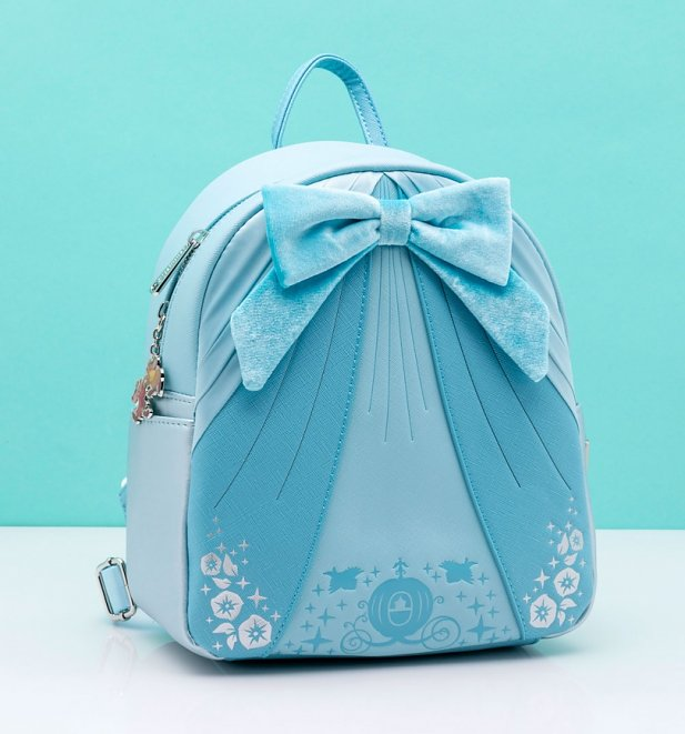Loungefly Disney Cinderella Blue Dress Mini Backpack