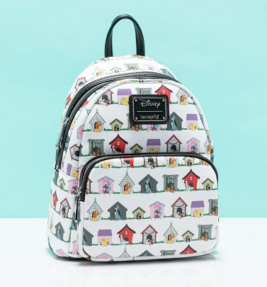 Loungefly Disney Dog Houses Mini Backpack