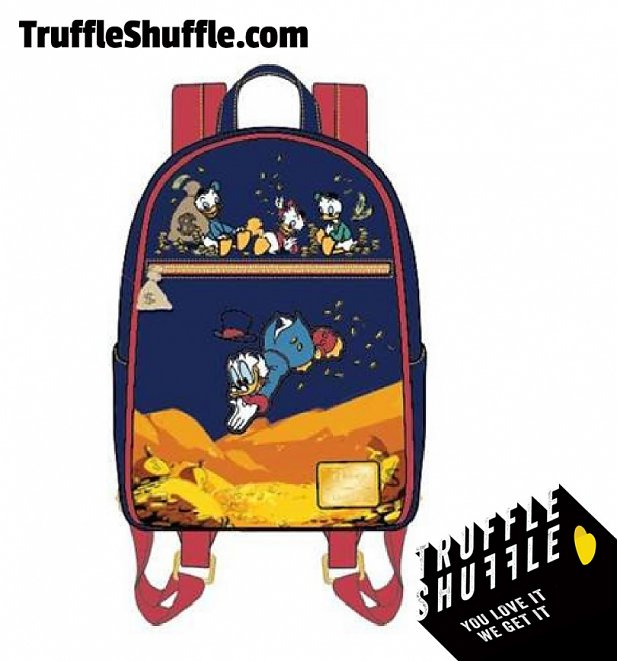 Loungefly Disney Duck Tales Gold Coins Mini Backpack