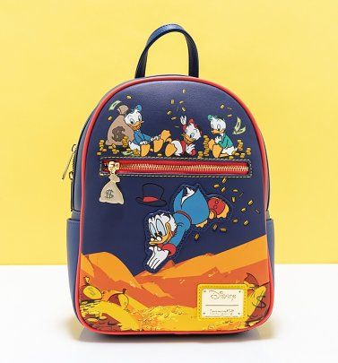 Loungefly Disney DuckTales Gold Coins Mini Backpack